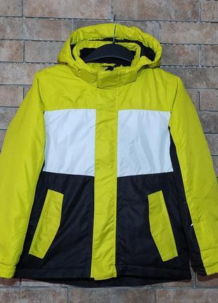 Crivit sports оригинал яркая зимняя лыжная куртка размер на рост 146-152 или взрослый s