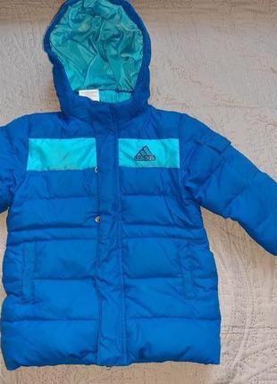 Детская курточка+комбинезон adidas(оригинал)