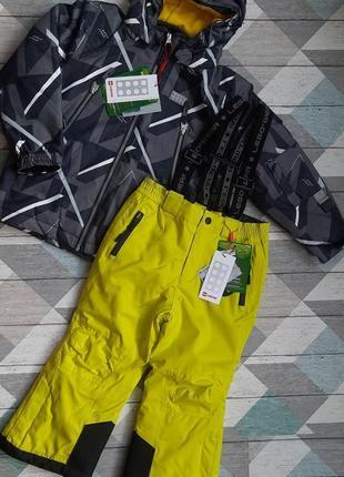 Яркий зимний раздельный комбинезон для мальчика р.104-110 lego wear reima lenne