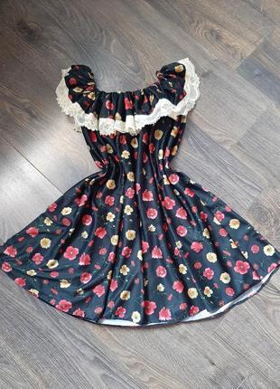 Платье сарафан свободное