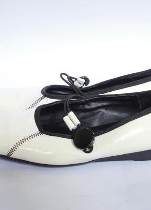 Туфли из натуральной кожи   р.39,5