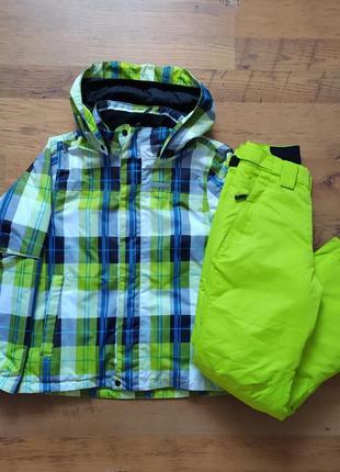 Icepeak оригинал подроствый лыжный костюм размер на рос. 128 140 на 7 8 9 10 11 лет