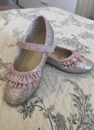 Блестящие туфельки