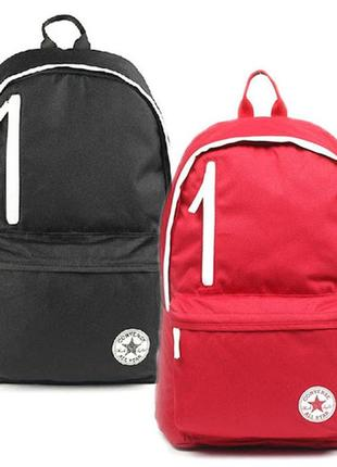 Рюкзак оригинал converse full ride backpack, универсальный вместительный.черный.