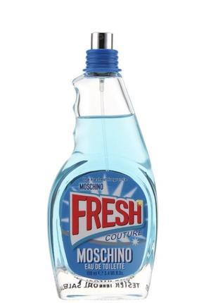 Moschino fresh couture 30 мл тестер оригинал