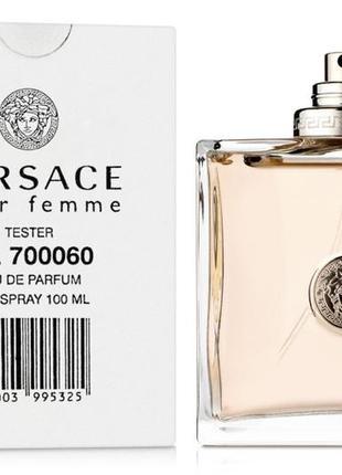 Versace pour femme 100 мл тестер оригинал