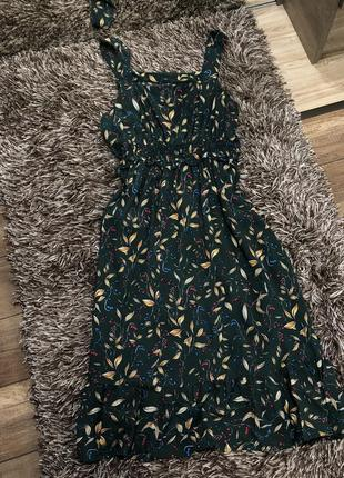 Вискозное платье сарафан tu
