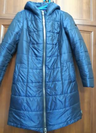 Демисезонное пальто , куртка удлиненная