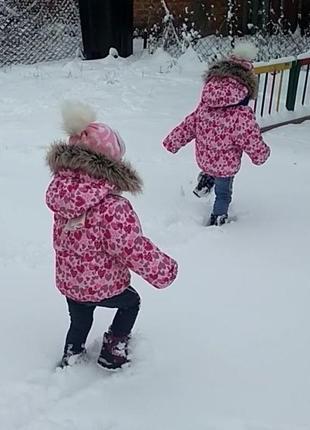Зимові комбінезони для двійні