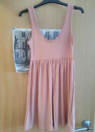 Платье пудра h&m