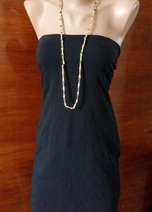 Платье мини h&m