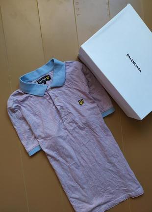 Красивое поло футболка от lyle scott