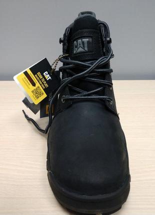 Ботинки мужские зимние кожаные непромокаемые cat caterpillar cohesion ice 40 оригинал