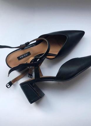 Туфли черные #туфли 2020 #мода 2020