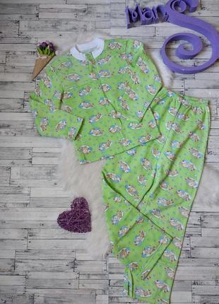 Детская пижама теплая с начесом