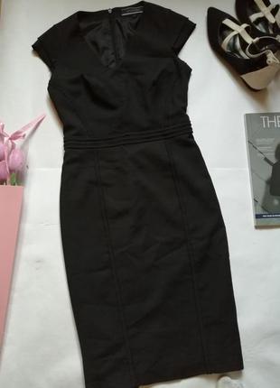 Офисное платье, платье в деловом стиле р 34-36