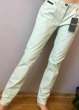 Мятные летние джинсы