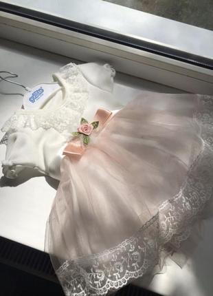 Шикарное платье для малышки😍