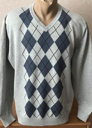 Atlantic bay натуральный пуловер джемпер с мысиком свитшот