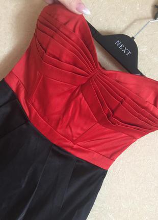 Коктельное короткое платье из атласа 😍