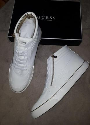 Высокие кроссовки , ботинки guess m11.5 -29cm