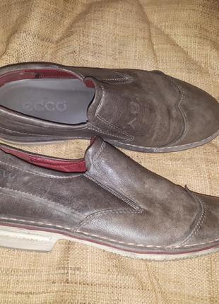 Кожа туфли ессо