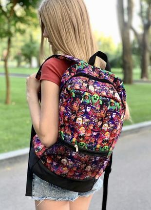 Рюкзак с принтом brawl stars