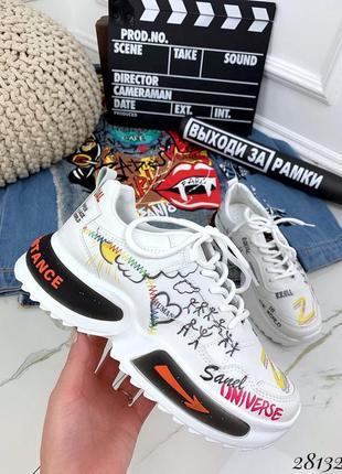 Стильные кроссовки, кроссы, кеды, кроссовочки на платформе, хит сезона, крутая модель