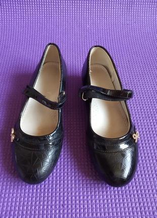Туфли черного цвета ф.с.в.т. т. длина стельки 20-20,5 см.32 размер