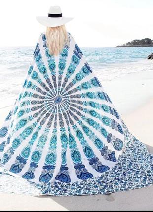 Подстилка/покрывало для пляжа, яркое пляжное покрывало, тонкое и компактное