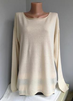 Реглан лонгслив свитер свитшот, из тонкой шерсти и кашемира, witty knitters.