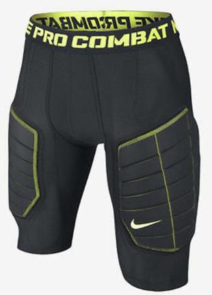 Компрессионные шорты защитные nike pro combat