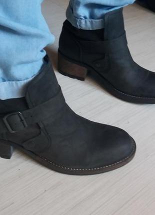 Кожаные ботильоны palladium 40р ботинки