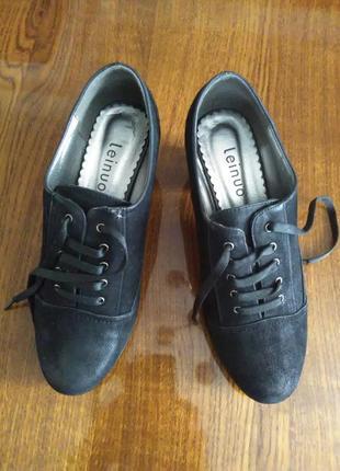 Женские демисезонные туфли