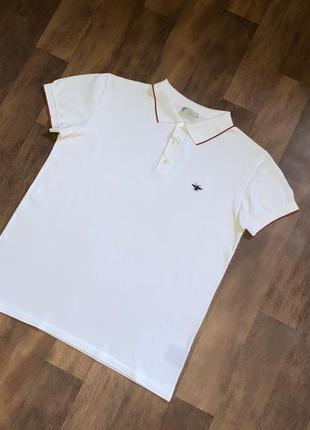 Мужская футболка поло polo christian dior диор оригинал размер l