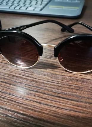 Солнцезащитные очки mango. оригинал