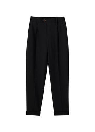 Брюки офисные школьные pull&bear классические штаны