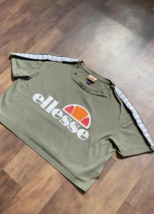 Топик топ ellesse футболка с лампасами оригинал размер 10