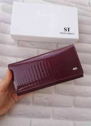 Женский кожаный кошелек из натуральной кожи жіночий шкіряний гаманець