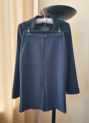 Костюм mango пиджак юбка