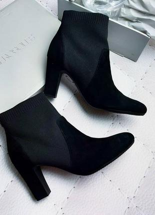 Aerosoles оригинал замшевые ботинки на каблуке