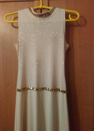 Шикарное выпускное вечернее платье в пол