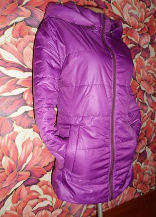 Демисезонная куртка теплая осень-весна,ветровка