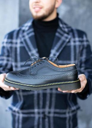 Шикарные мужские туфли dr.martens 1461 low