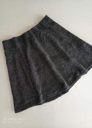 Теплая стильная фирменная юбка от немецкого бренда street one, s-m