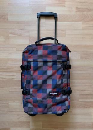 Оригинальный чемодан, сумка на колесиках eastpak tranverz s boldbox red