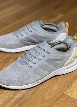 Оригинальные кроссовки adidas zx flux smooth {38р 24 см}