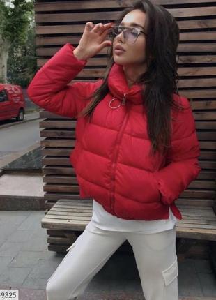 Демисезонная курточка куртка с колечком