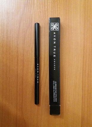 -60% черный карандаш для глаз эйвон blackest black avon чорний олівець для очей ейвон