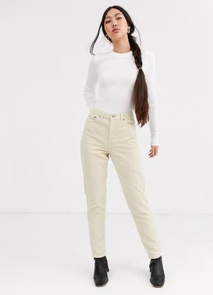 Джинсы бойфренд,высокая посадка,штаны,брюки в стиле сафари,мом
